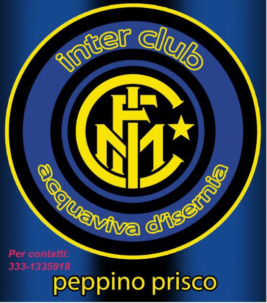 """Acquaviva d'Isernia, gli auguri natalizi dell'Inter Club """"Peppino Prisco"""" a tutti i soci e tifosi dell'Inter."""