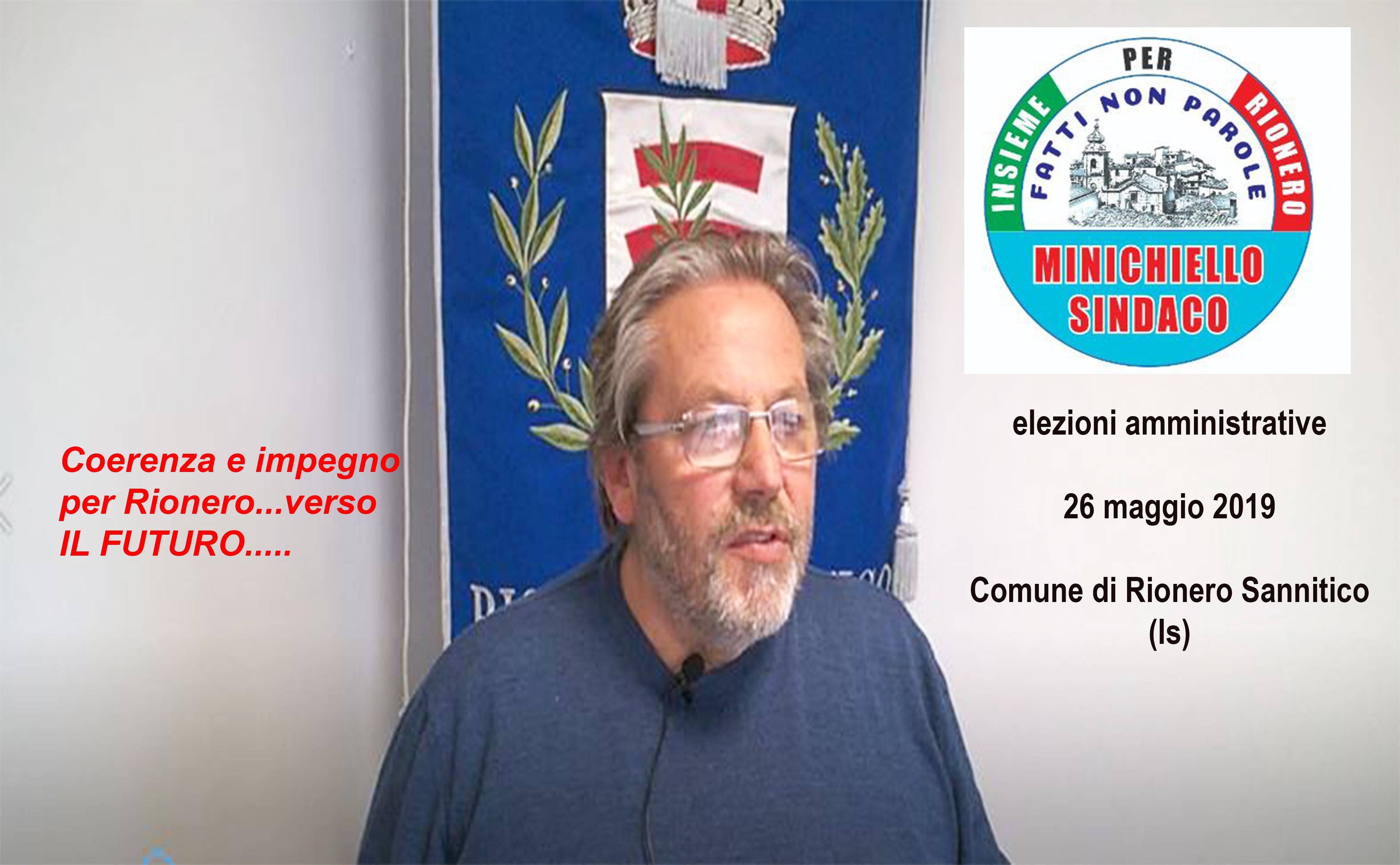 """Rionero Sannitico: """"23Milioni di euro spesi e programmati per il nostro comune. Così cambiamo il territorio"""". Tonino Minichiello pensa alle prossime opere."""