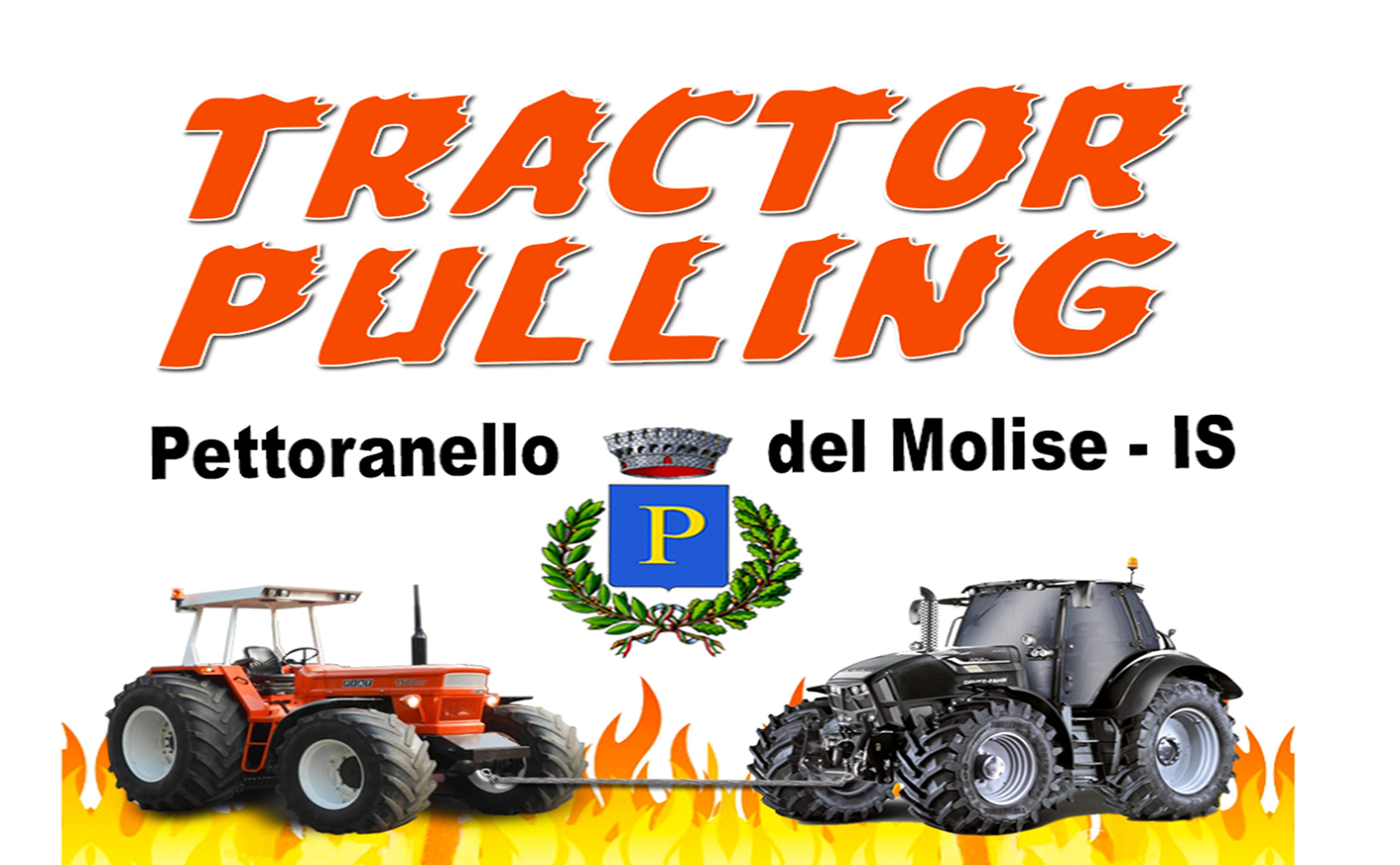 Tractor Pulling è tutto pronto a Pettoranello del Molise. Domenica 14 luglio il grande evento.