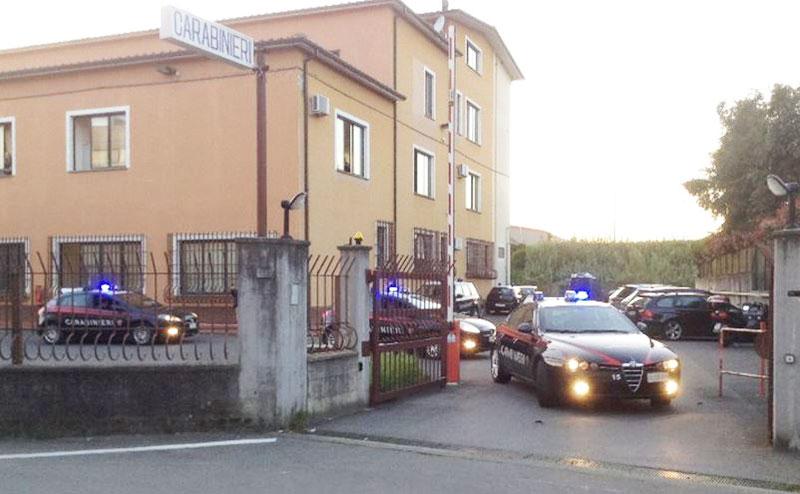 Venafro: una coppia del posto tratta in arresto per spaccio. L'operazione condotta dai Carabinieri.