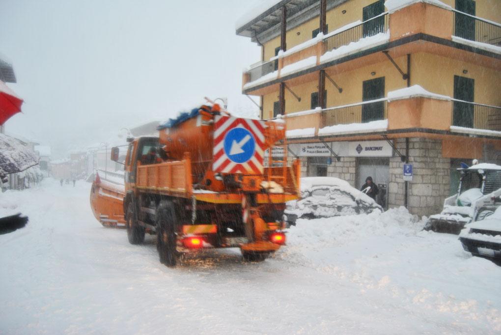 Abruzzo: freddo record, 27,9 gradi sotto zero nella Piana delle Cinque Miglia.