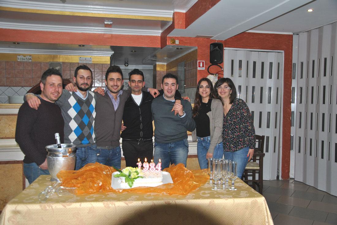Colli a Volturno: la classe '84 festeggia il 2016 e l'arrivo dei 32 anni. Una simpatica rimpatriata tutta collese.