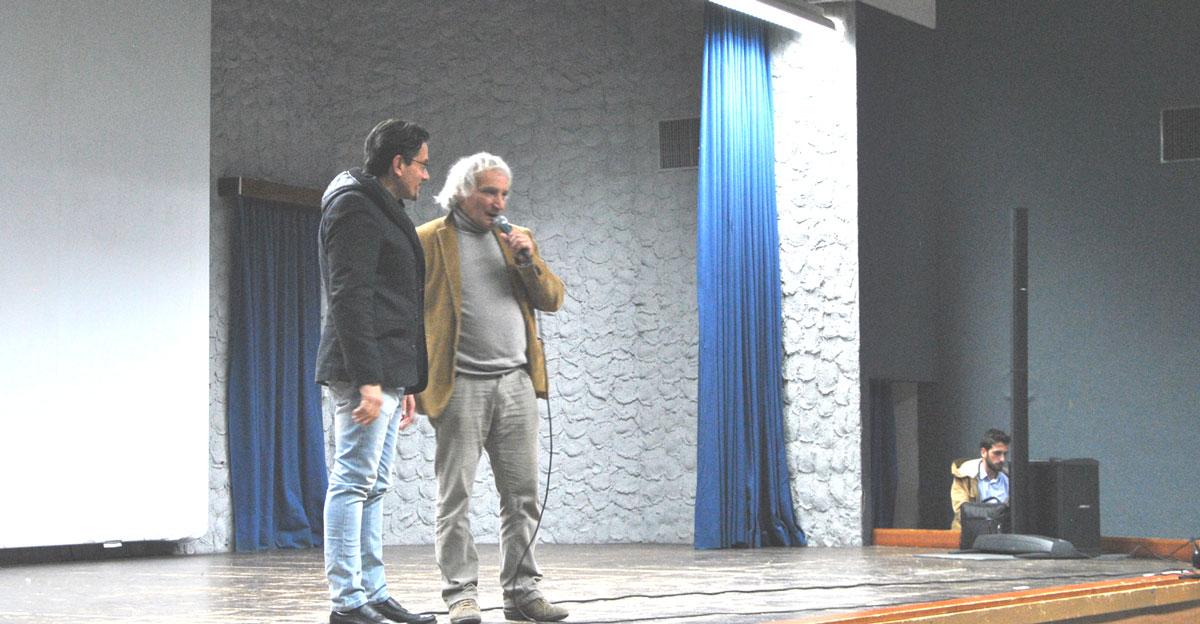 Moulin e Pierluigi Giorgio fanno il pienone anche a Campobasso. Successo per la proiezione del film-documentario.