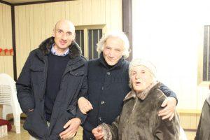 Santilli, Giorgio e Tina Castrataro (amica di Moulin)