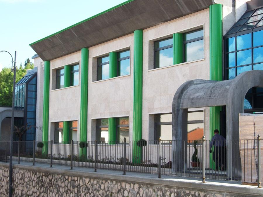 Colli a Volturno: lunedì 1 ottobre l'inaugurazione del Secondo Corpo di Fabbrica dell'edificio scolastico. Mensa e palestra per gli alunni dell'Istituto Comprensivo.
