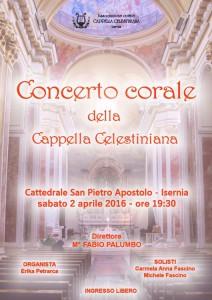 Manifesto Cappella Celestiniana