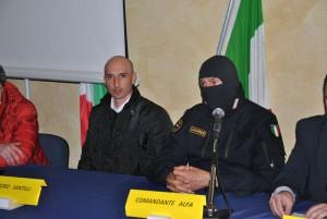 Teodoro Santilli e Comandante Alfa