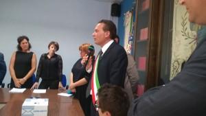 Giuramento sindaco Emilio Incollingo