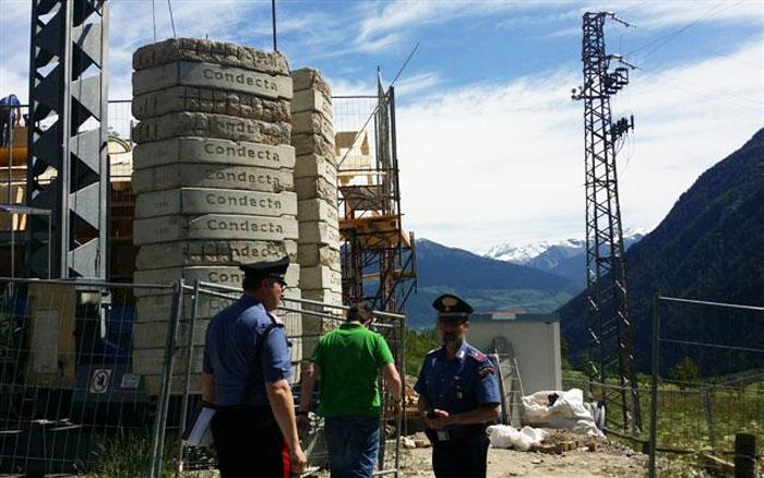 Isernia:  Mancata sicurezza suoi luoghi di lavoro e sfruttamento del lavoro nero, cinque persone denunciate dai Carabinieri.