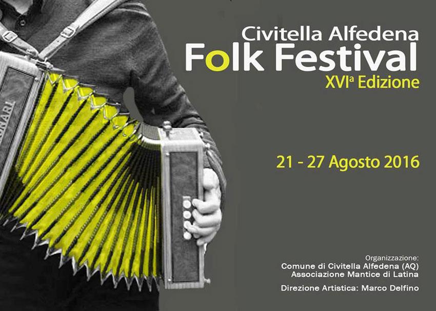 """Civitella Alfedena: appuntamento con la tradizione e con la sedicesima edizione del """"Folk Festival""""."""