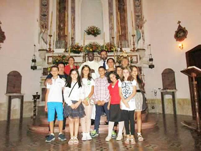 Filignano: il coro parrocchiale muove i suoi primi passi. Successo per l'esibizione a Venafro.
