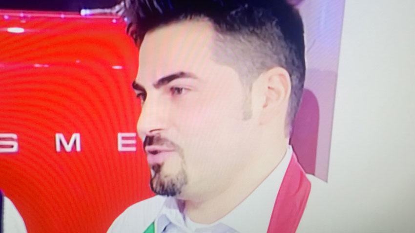 """Castelnuovo al Volturno: il campione della """"Prova del Cuoco"""" Stefano Rufo sfiderà la Calabria. Il 23 dicembre ancora diretta televisiva per il Molise."""