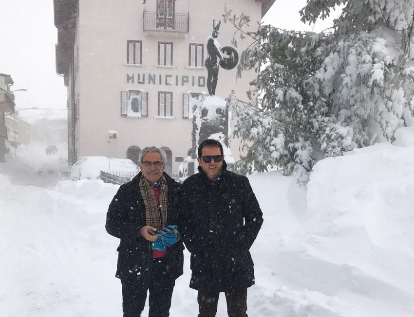 Emergenza neve: la Provincia è stata efficientissima. Al sindaco di Pietrabbondante Tesone suggerisco di rimboccarsi le maniche invece di lasciare in abbandono il suo comune.