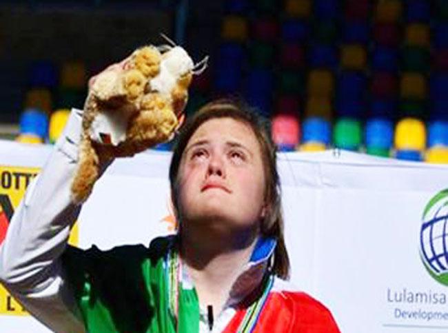 Nicole Orlando, la pluricampionessa che ha fatto sognare l'Italia, ospite alla Giornata dello Sport della Regione Molise il 25 gennaio.
