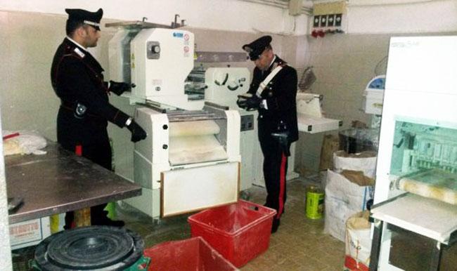 Isernia: Tutela della salute e del lavoro, operazione dei Carabinieri, sette imprenditori denunciati, uno dei quali anche per furto aggravato di energia elettrica.