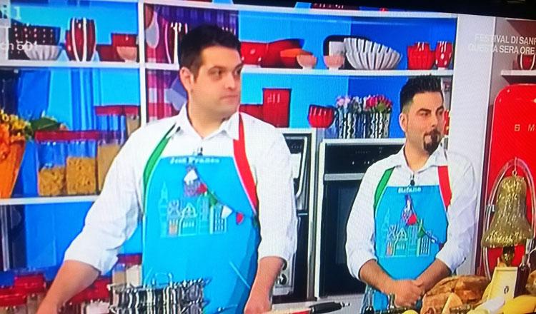 Si ferma la corsa di Stefano Rufo alla Prova del Cuoco. Lo chef molisano sconfitto alla quarta partecipazione dal Friuli, ma che vetrina per il nostro Molise.