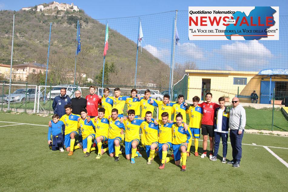 Calcio giovanile: gli allievi dell'Asd Boys sconfitti a Campobasso nella semifinale di ritorno con le Acli. Punteggio finale di 4 a 1.