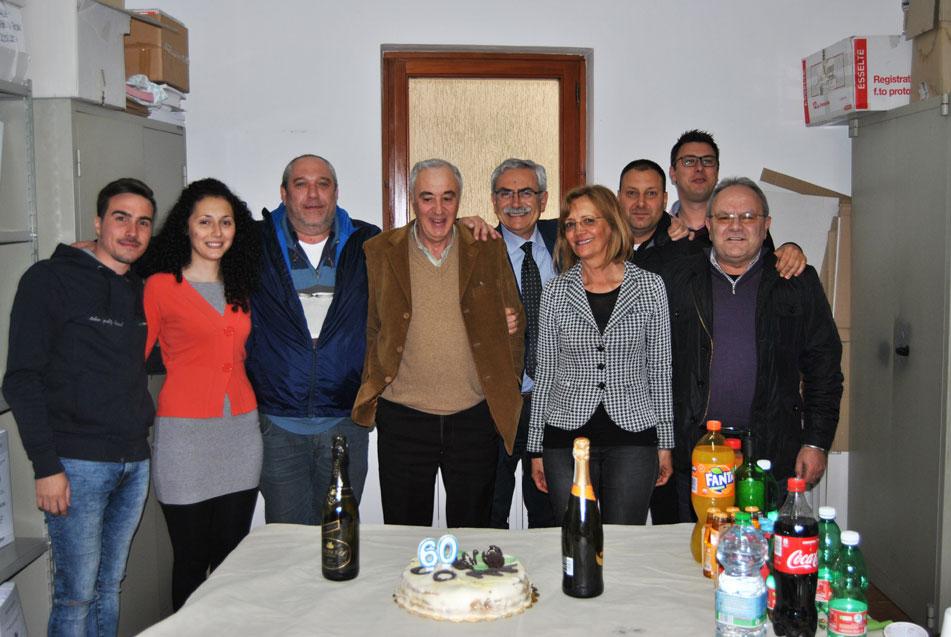 L'Angolo degli Auguri: oggi festeggiamo un compleanno speciale…quello di Franco Visco che tocca quota 60anni.