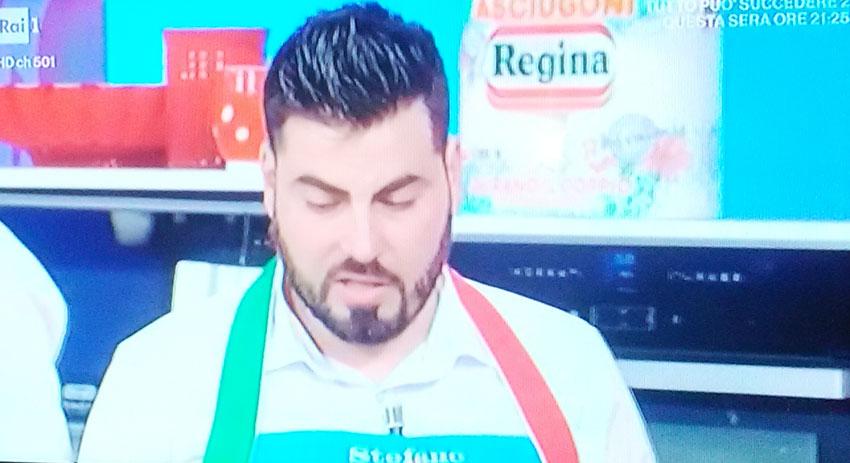 Stefano Rufo vince ancora. L'eroe del Volturno esalta il Molise e la sua terra alla Prova del Cuoco. Ormai la finalissima è ad un passo.