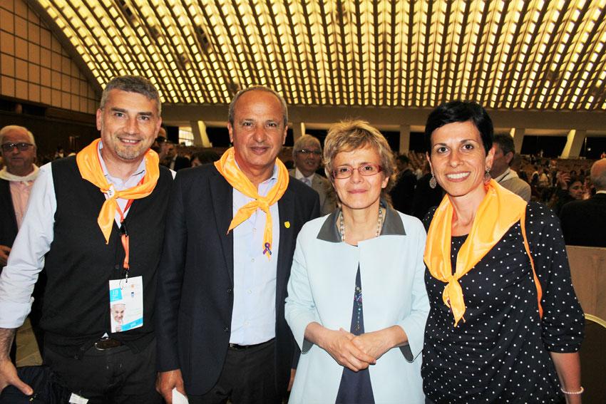 La Fondazione Neuromed a Roma in Vaticano all'evento HDdennomore.