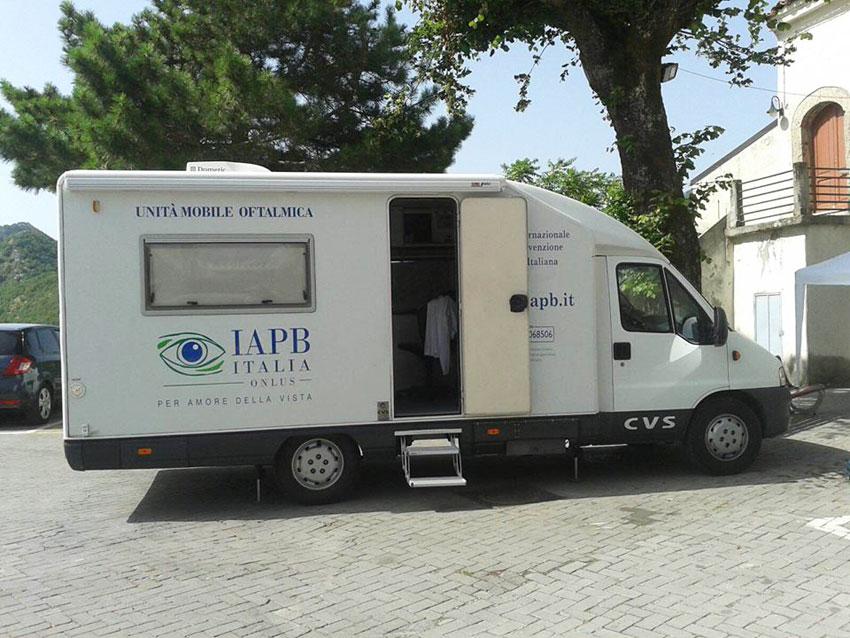 Settimana mondiale del Glaucoma, l'Unione Ciechi scende in piazza a Colli a Volturno.