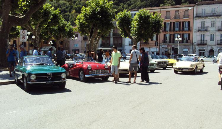 Incontro con le auto di ieri, si è concluso il tour che ha toccato anche la Valle del Volturno.