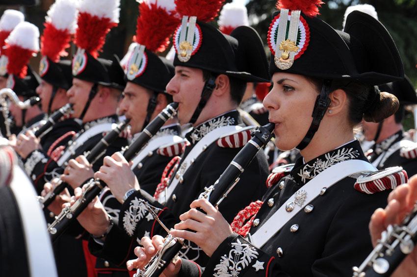 Valle Agricola (Ce): questa sera il concerto della Fanfara dei Carabinieri.
