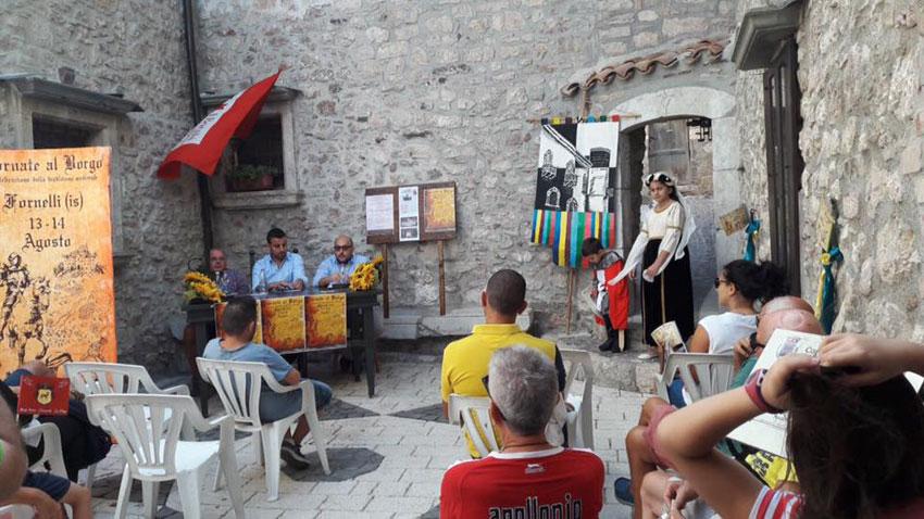 Fornelli: presentata l'edizione 2017 delle Giornate al Borgo. Evento giunto alla 23esima edizione.
