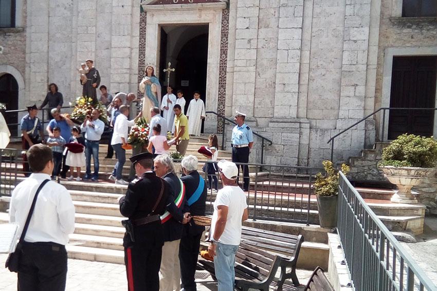 Filignano: è tutto pronto per le feste patronali dell'8 e 9 settembre. La parrocchia in festa per la natività della Beata Vergine Maria  e per Sant'Antonio da Padova.