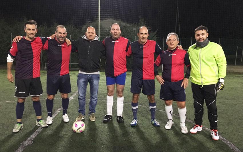 Calcio a 5: la Pininho Team ufficializza la Rosa e scalda i motori per il torneo over 40 presso il centro sportivo Manocchio.