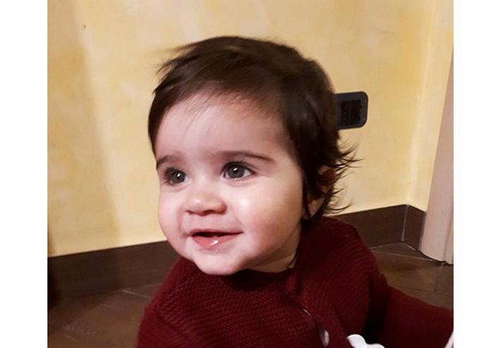 L'Angolo degli Auguri: festeggiamo oggi un anno di vita della piccola Adelia Rocchio di Roccaravindola