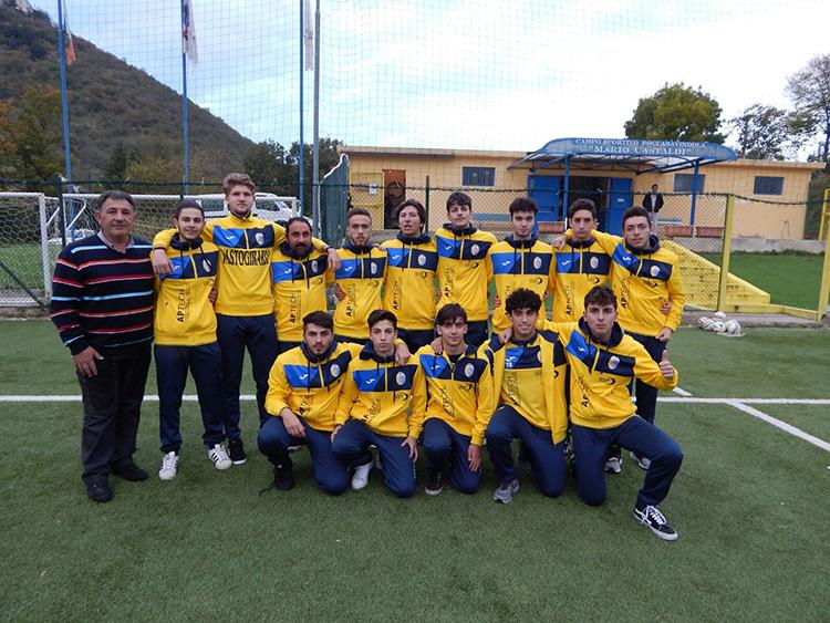 Calcio: prima sconfitta stagionale per la Juniores del Vastogirardi. La formazione di mister Didone cade fuori casa con la capolista Sesto Campano.