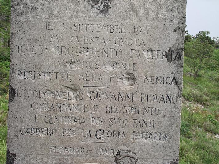 Montaquila: si inaugura domani mattina la stele commemorativa in onore del militare locale Luigi Ricci.