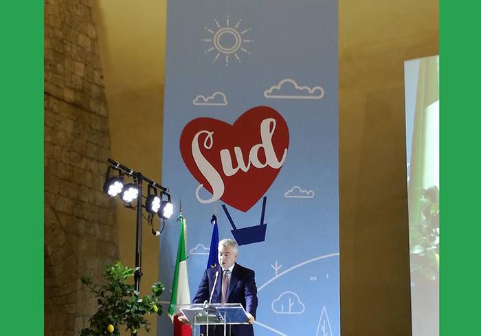Resto al Sud: Gabriel Paolone presente a Napoli al primo incontro della misura Salva Sud. Il consigliere trae spunti per il territorio.