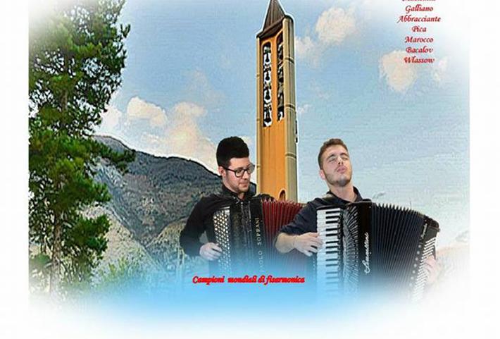 Venafro: concerto di Natale con Andrea Di Giacomo e Valerio Russo. L'evento nella sala parrocchiale dei Santi Martino e Nicola.