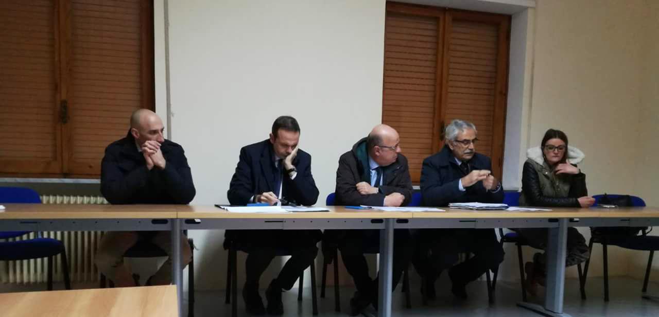 Strategia Nazionale Aree interne-Area interna Mainarde-riunione a Campobasso nella sede della Regione Molise.