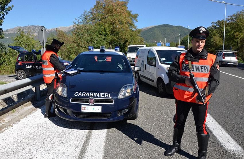 Isernia: Furti e altri reati predatori, raffica di misure di prevenzione e denunce nell'ambito di controlli straordinari dei Carabinieri.