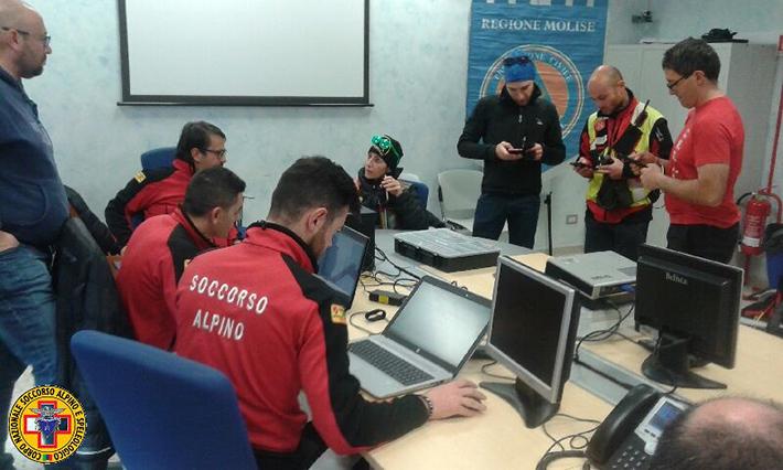Attività formativa per ricerca persona dispersa dedicata ai Volontari di Associazioni di Protezione Civile regionale, positiva la simulazione effettuata a Campochiaro.