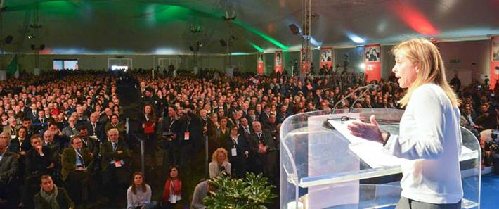Secondo Congresso Nazionale a Trieste per Fratelli d'Italia, Meloni acclamata presidente. Presente una nutrita delegazione molisana.