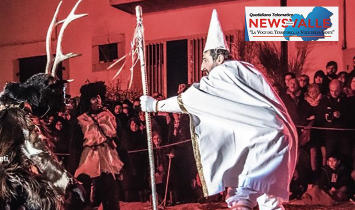 """Castelnuovo al Volturno: """"Il Mistero di un antichissimo Rito"""", domenica 11 febbraio appuntamento con """"Gl ' Cierv""""."""