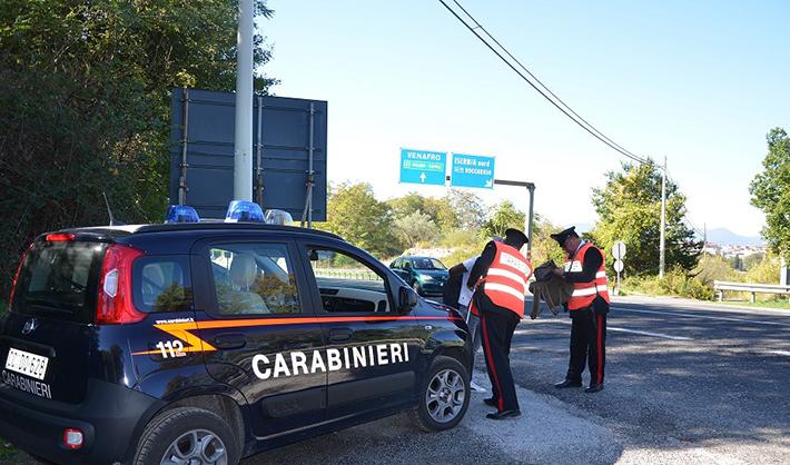 Monteroduni: Furto all'interno di un negozio, 30enne fermato dai Carabinieri. Recuperata la refurtiva.