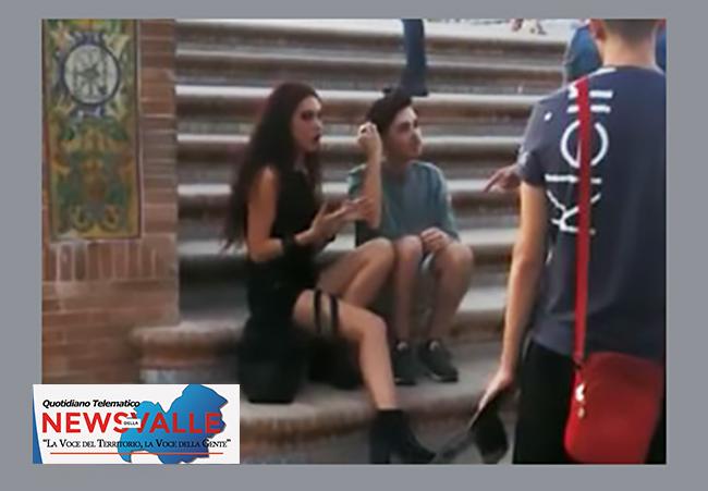 Siviglia: Flavia Alessandri giovane di Colli a Volturno protagonista nel video musicale Rosas Y Espinas realizzato da alcuni famosi rapper spagnoli.