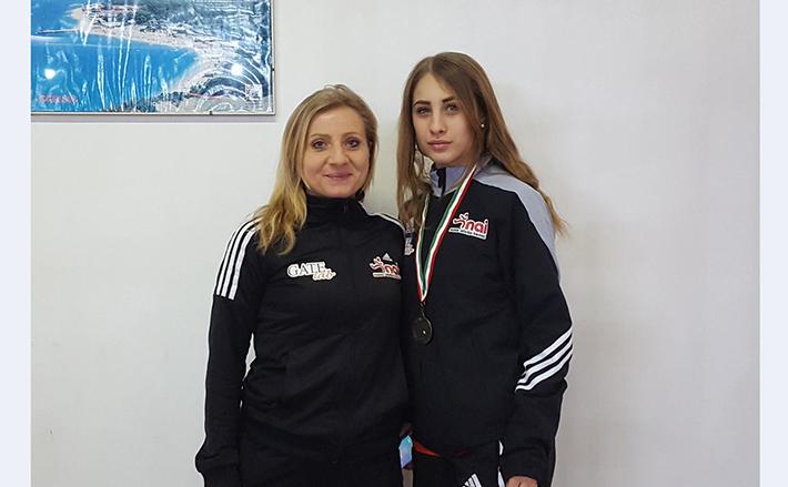 Atletica: un fine settimana da incorniciare per la Nuova Atletica Isernia. Greta Fraraccio terza ai campionati italiani Indoor di Ancona.
