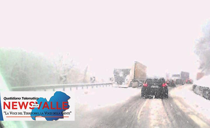 La neve torna a cadere su gran parte del Molise. Quota neve tra 600 e 700 metri, in serata dovrebbe abbassarsi.