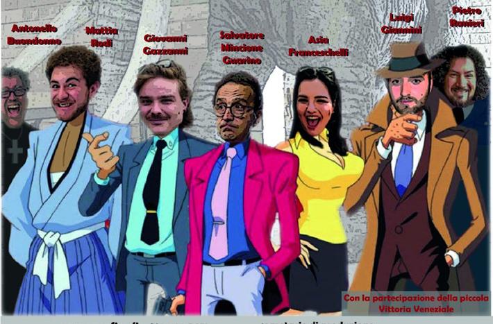 La compagnia Cast con 'Come ti rapino il dentino' di Maurizio Veneziale, dal 7 aprile al teatro 'Il Proscenio'