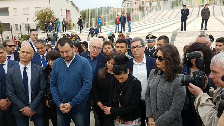 """Salvini in Molise: """"Con la Lega al Governo niente immigrati a San Giuliano di Puglia""""."""