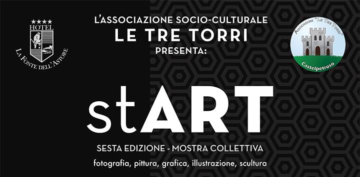 Castelpetroso: Una giornata all'insegna dell'arte per l'associazione Le Tre Torri con la mostra Start. Le arti visive di giovani artisti molisani in esposizione.