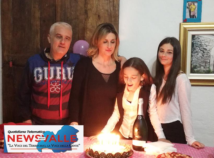 L'Angolo degli Auguri -Colli a Volturno: la nostra redazione festeggia oggi i 13 anni di Anna Martino.