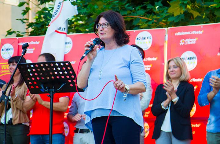 Guglionesi: Giuliana Senese presenta il primo punto della sua campagna elettorale sulla sicurezza e l'ordine pubblico. La Candidata del Movimento Cinque Stelle in corsa per la poltrona di primo cittadino.