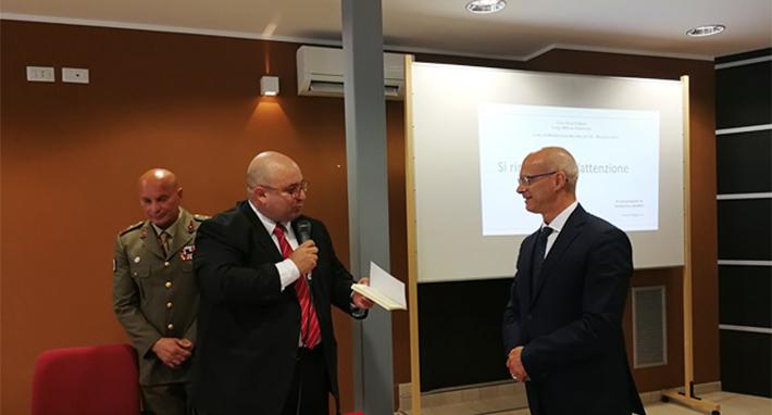 Militari Croce Rossa, il presidente Toma al seminario di Termoli